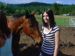 Melody Me and a horse