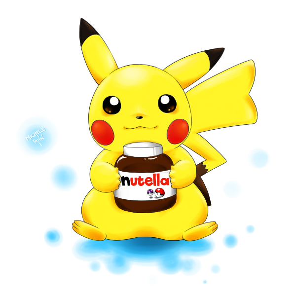 Pikachu and Nutella