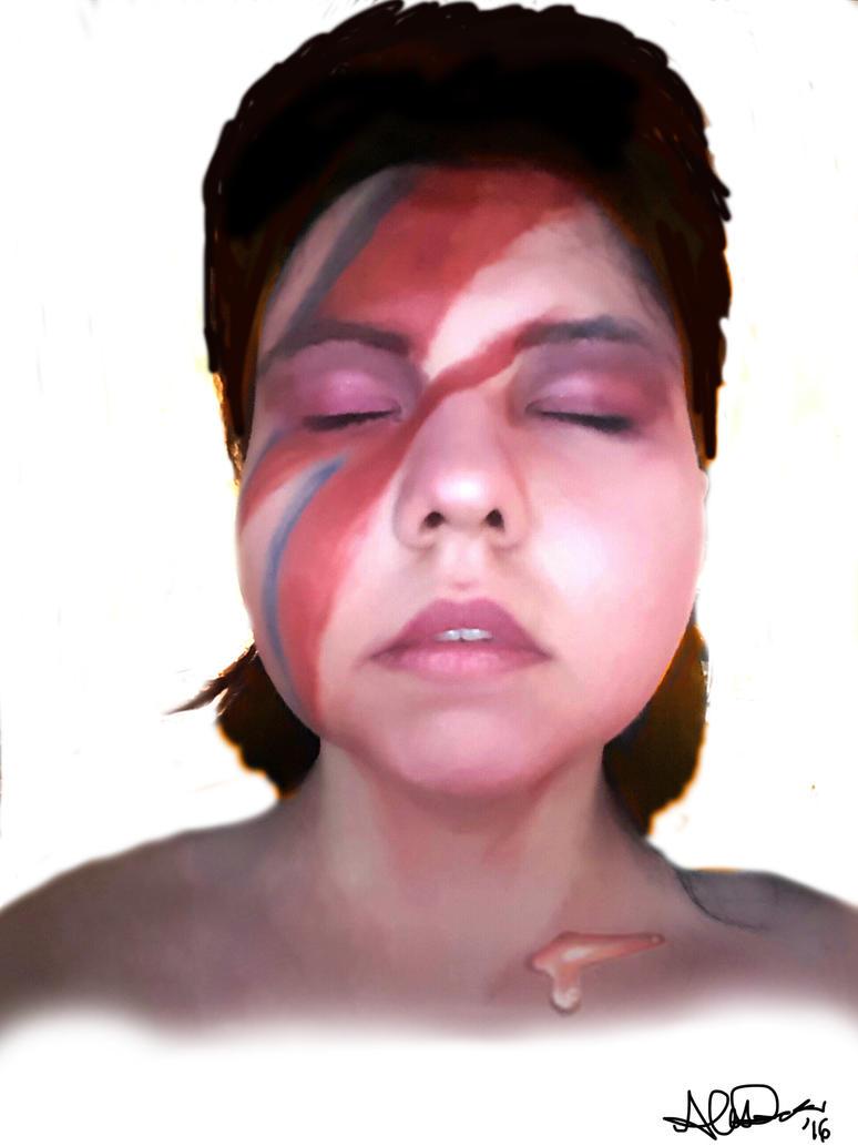 Tribute To Bowie by MabMeddowsMercury