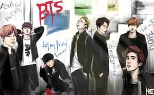 BTS school story by noanio