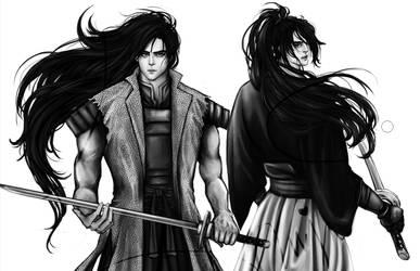 Onime no Kyo VS Kyoshiro Mibu