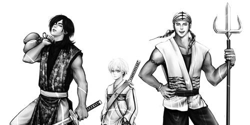 Yukimura x Sarutobi x Benitora