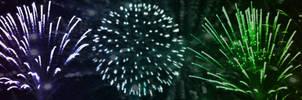 Fireworks by anteaterjeter