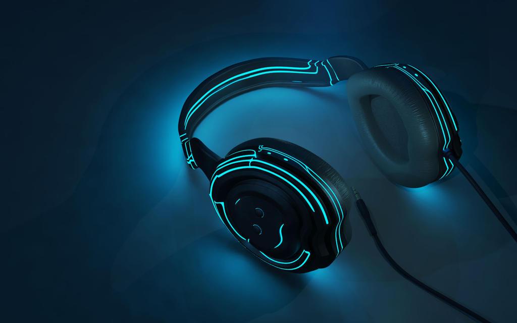 Tron Headphones by DoramiRex