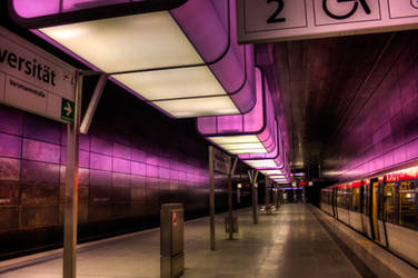 Train-station HafencityUniversitaet by MartinJP