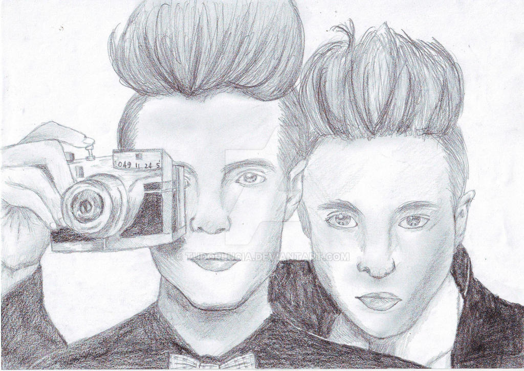John and Edward Grimes by TuDoRlUcIa