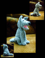 A Woolly Wolf by honeyness