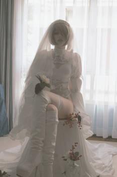 2B Cosplay Bride