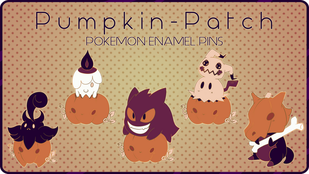 [KICKSTARTER: OPEN] Pokemon Enamel Pin