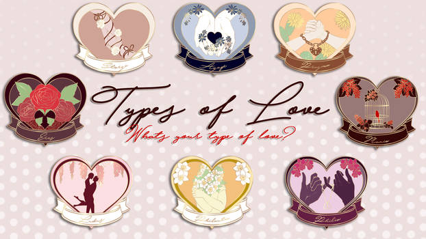 [KICKSTARTER] Types of Love Enamel Pin