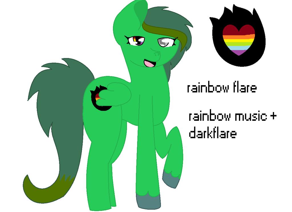 Darkflare+rainbowmusic by pokemonfnaf1