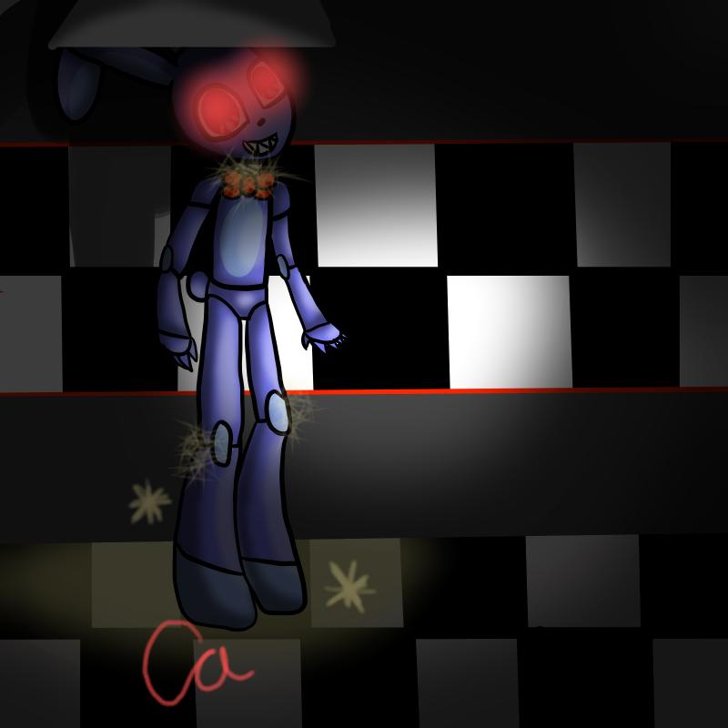 Bonnie by pokemonfnaf1