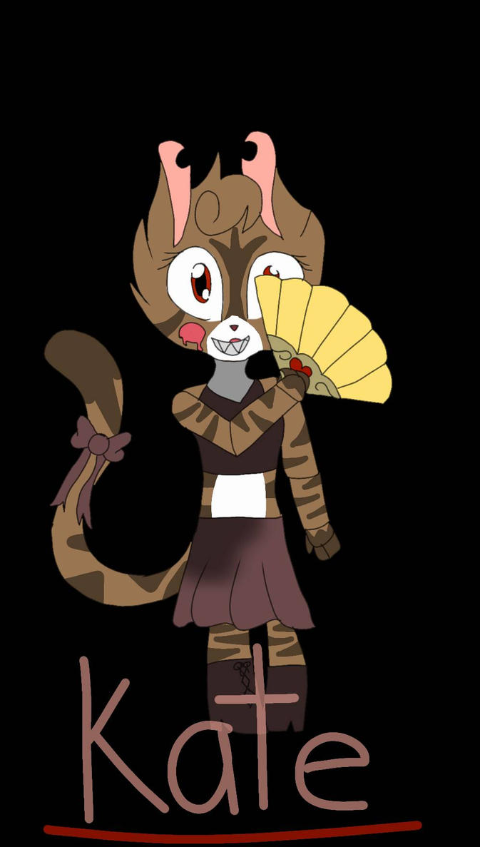 Kate the cat by pokemonfnaf1