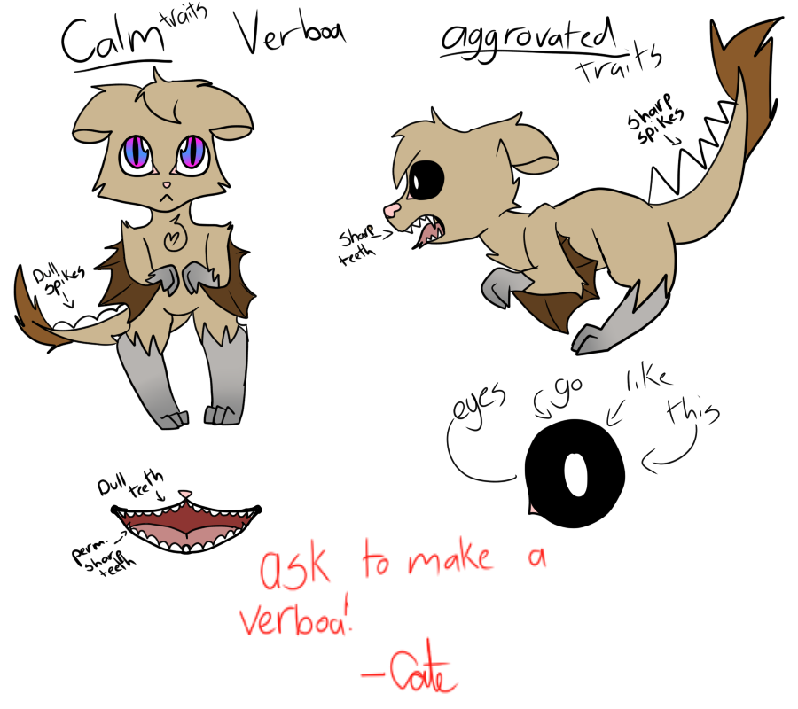Verboa -CLOSED SPECIES, ASK TO MAKE ONE- by pokemonfnaf1