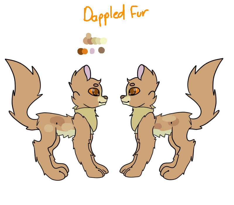 Dappled Fur by pokemonfnaf1