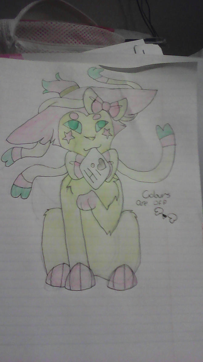 a sylveon oc (READ DESCRIPTION) by pokemonfnaf1