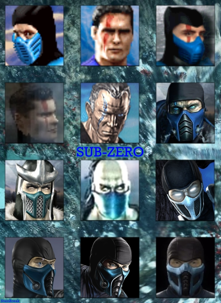 Mortal Kombat - Sub-Zero's Evolution by StainBreak on ...