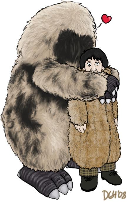 Yeti Hugs by dragon-64
