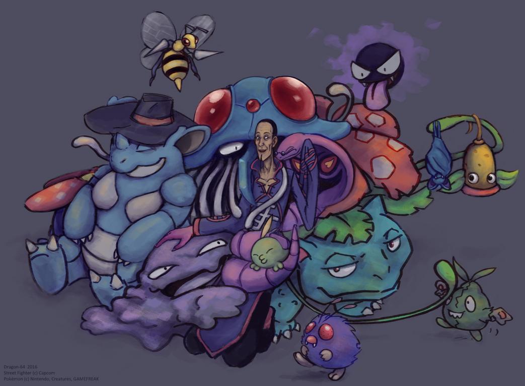 SFR - Poison Cuddle Pile by dragon-64