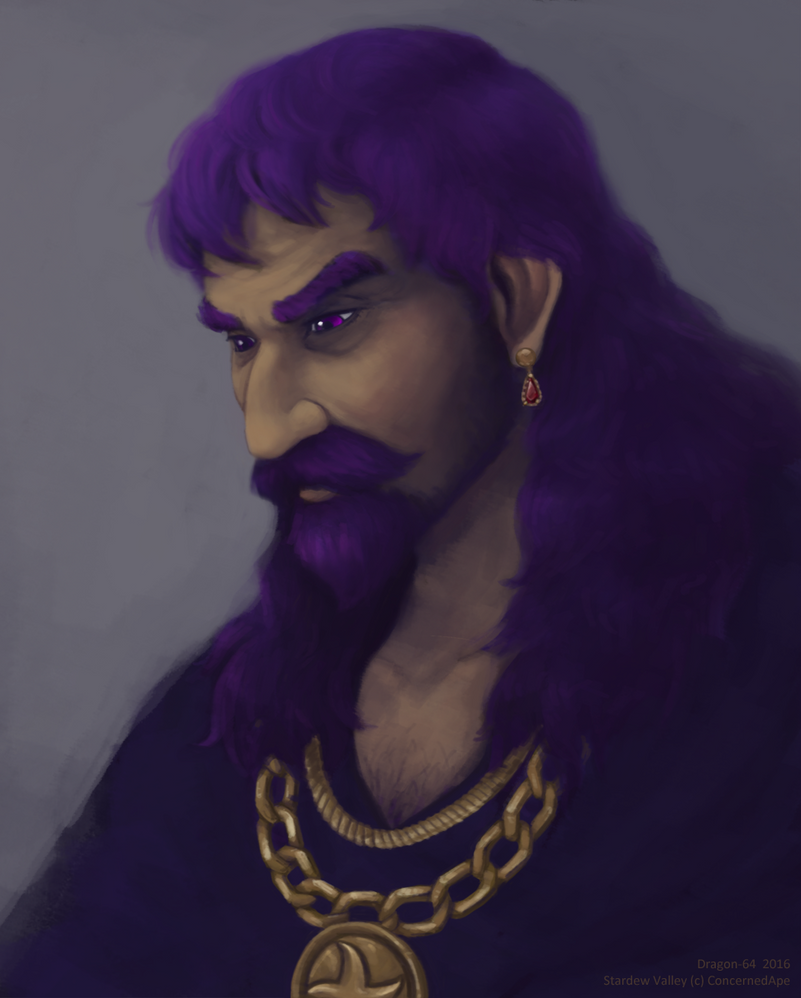 SV - Rasmodius Portrait by dragon-64
