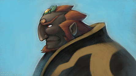 LoZ - WWGanondorf by dragon-64
