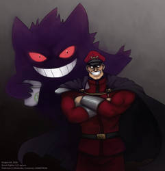 SFR - Bison and Gengar by dragon-64