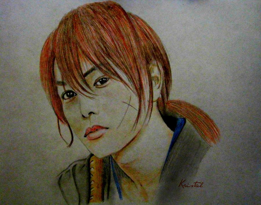 Himura Kenshin by kgpanelo