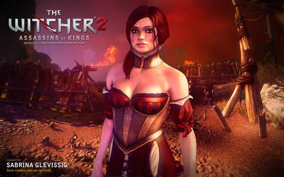 Witcher 2. Sabrina Glevissig