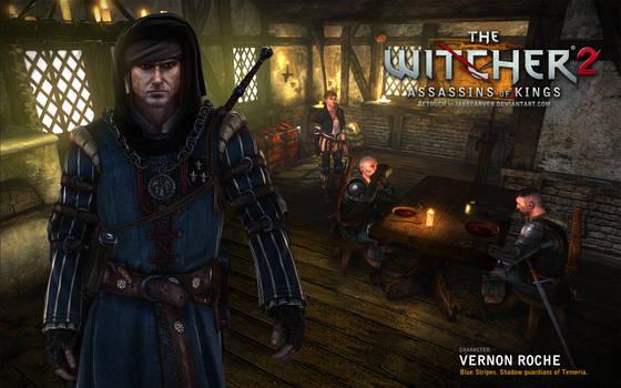 Witcher 2. Vernon Roche