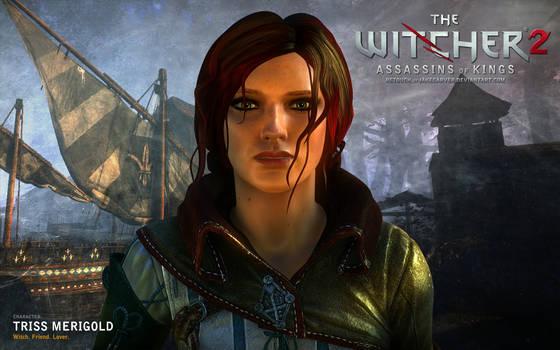 Witcher 2. Triss Merigold