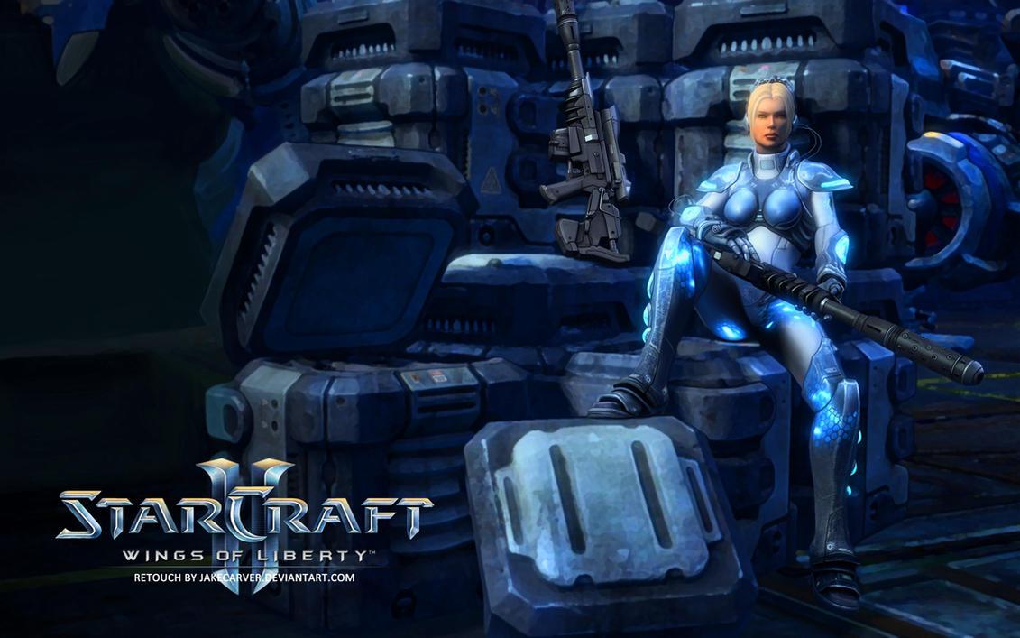 Nova starcraft 2 wings of liberty by jakecarver on - Starcraft 2 wallpaper art ...