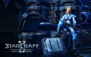 Nova. Starcraft 2: Wings of Liberty by JakeCarver