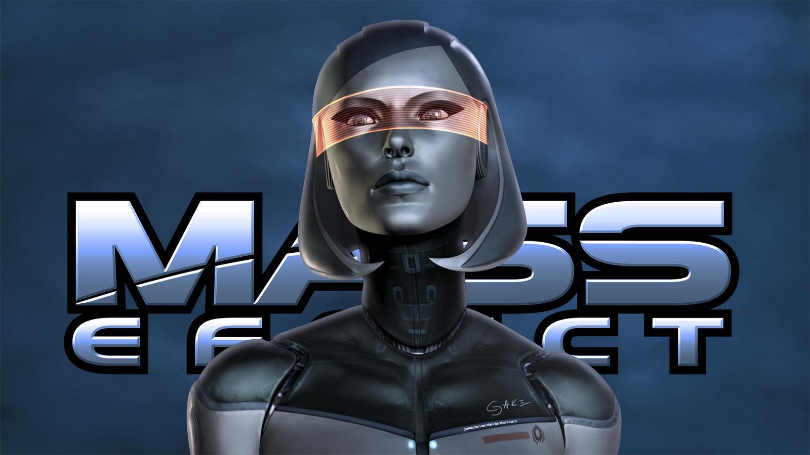 EDI. Mass Effect Wallpaper by JakeCarver on DeviantArt