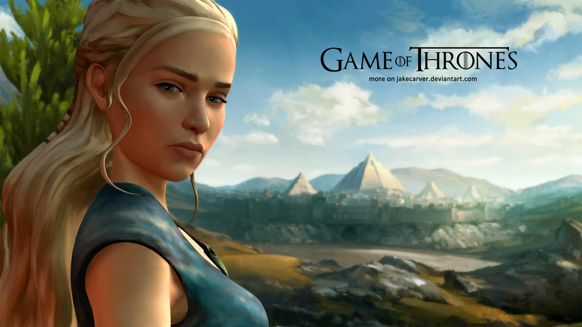 Game Of Thrones Daenerys Targaryen Wallpaper By JakeCarver