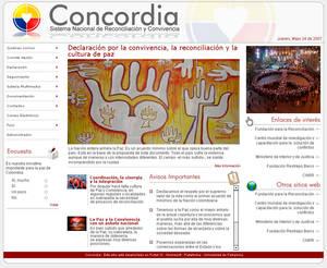 CONCORDIA website proposal