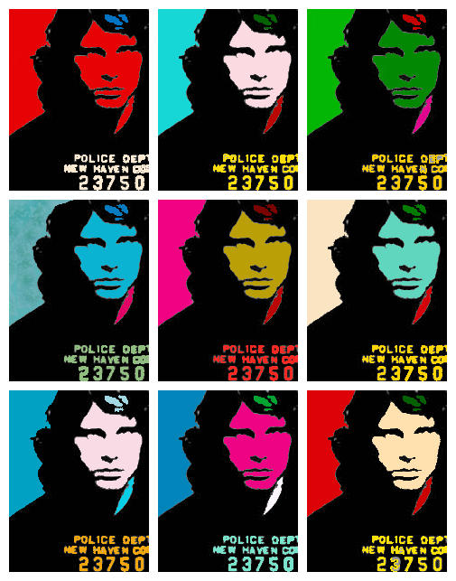 Morrison Meets Warhol