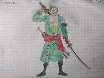 One Piece:  Roronoa Zoro by Masculc7