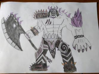 Darksiders 2: El campeon de la Corrupcion Absalom by Masculc7