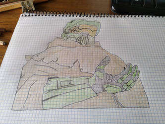 Halo 5: Master Chief Outlaw by Masculc7