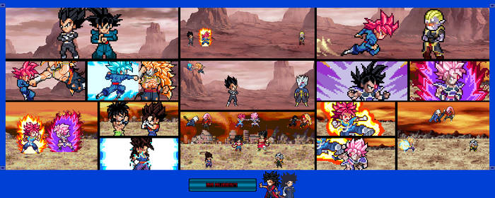 Super Dragon Ball Super OC #1 - ULSW