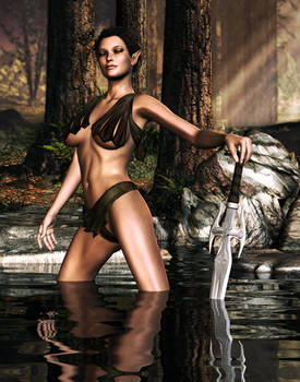Elven Lady Of The Lake