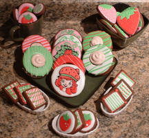 Strawberry Shortcake Cookies by Afina79