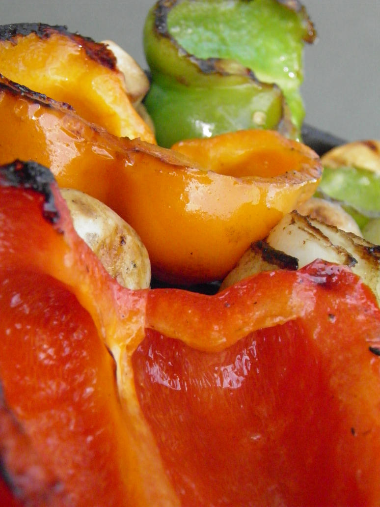 Grilled Peppers by Afina79