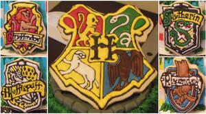 Harry Potter Crest Cookies