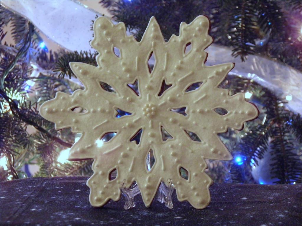 Jumbo Snowflake Cookie by Afina79
