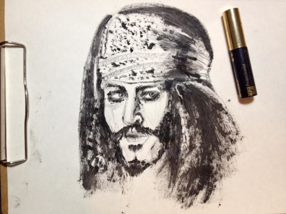 Mascara Captain Jack Sparrow by kschelling