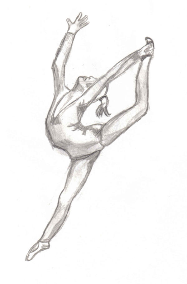 Easy Coloring Of Dancer Coloring Pages