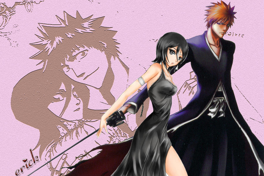 ichigo and rukia love by elerick08 on DeviantArt
