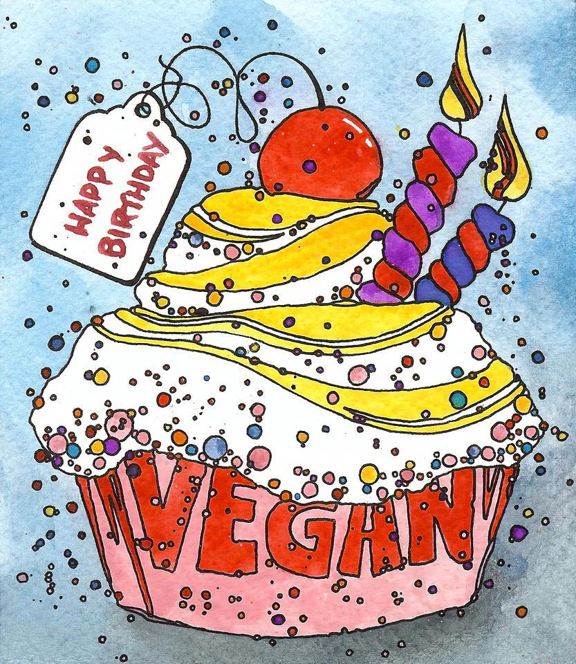 Vegan Birthday Cupcake By DeftLeftHand On DeviantArt