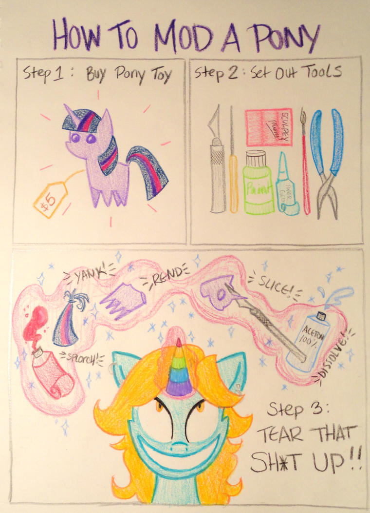 How To Mod a Pony by Colour-Splashes
